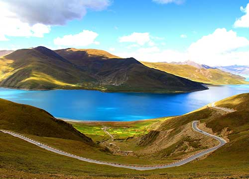 5 Days Lhasa City Tour with Sacred Yamdroktso Lake