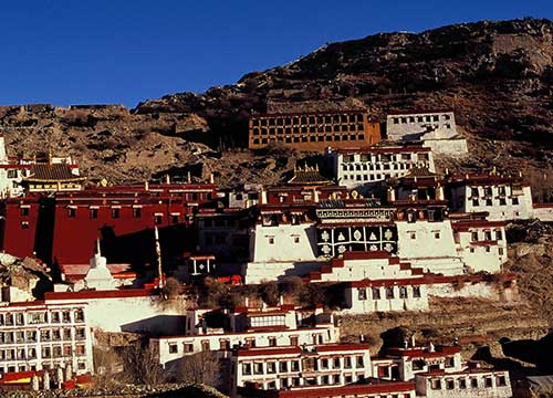 6 Days Lhasa and Ganden Monastery Biking Tour