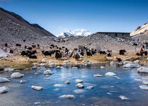 7 Days Overland from Lhasa to Kathmandu Group Tour