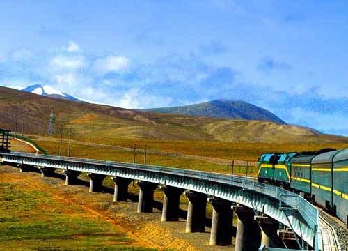 Taking Train from inland China to Tibet