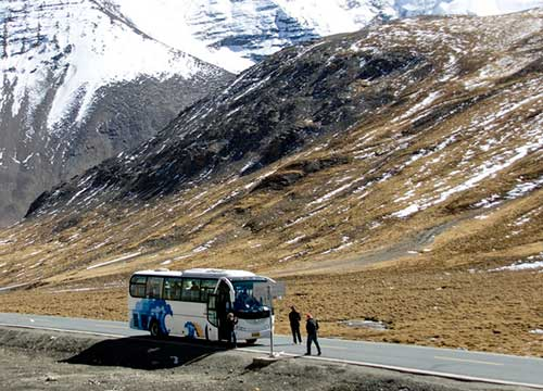 Transportation at Shigatse Areas by air train or bus