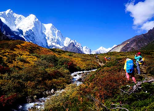 16 Days Gama Valley Trekking Tour